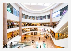 Battpoint in shopping center